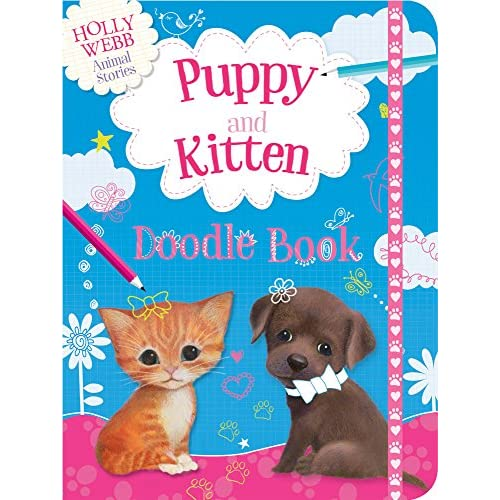 Puppy and Kitten Doodle Book Webb  Holly