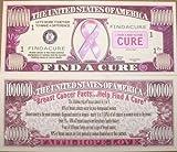 Set of 5 Bills-Find a Cure Million Dollar Bill