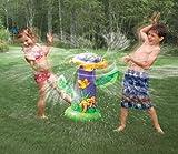 Spray Zone Spinning Sunflower Sprinkler