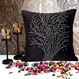 Cushion Casa Cushion Covers (Black)