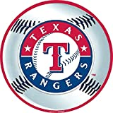 """Sports And Tailgating MLB Party Texas Rangers Cutout Decoration, Laminated Cardstock, 12"""", Pack Of 1"""