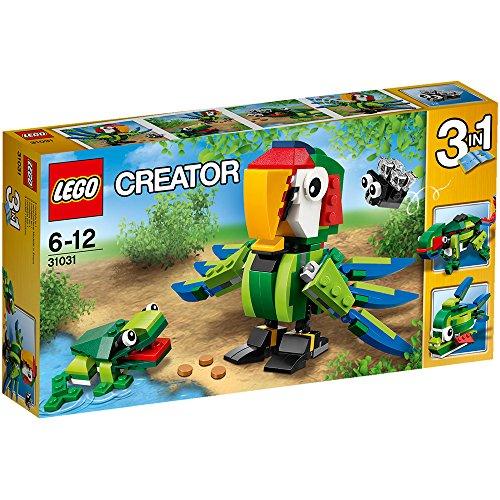 レゴ クリエイター 熱帯の動物たち 31031