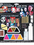 Paper Magic Group Deluxe Family Faces Makeup Kit,One Size
