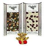 Chocholik Belgium Chocolate Gifts - Invigorating Collection Of Belgian Chocolate Bars With Small Ganesha Idol...