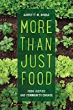 More Than Just Food: Food Justice and Community Change (California Studies in Food and Culture)