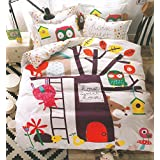 Dream Weaverz Weightless Cotton Double Bedsheet With 2 Pillow Covers In Attractive Box Pack To Gift For Kids Room