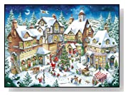 Santas Christmas Wonderland 1000 Piece Christmas Puzzle