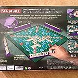 Wonfast Small Scrabble Titles Letters Words Board Game Set For Kids Junior Travel Make Decent Family Time