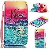 6S Plus Case,iPhone 6S Plus Case,With Strap Wristlet Slim PU Leather Case Wallet Cases Magnetic Closure Case For... - B019C3GOGO