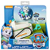 Nickelodeon Toy - Paw Patrol - Everest's Rescue Snowmobile - Everest Figure and Vehicle Playset