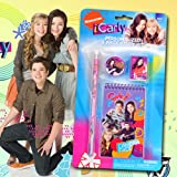 Birthday Gift Combo - Nickelodeon iCarly Large Backpack and iCarly Stationery Set