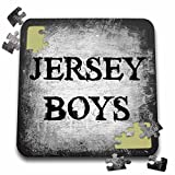 Xander movie quotes - jersey boys, black letters on gray background - 10x10 Inch Puzzle (pzl_192433_2)