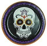 Day of the Dead, Dia de los Muertos Round Dessert Plates for 36 Guests