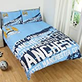Manchester City F.C. Impact Double Duvet Cover Set