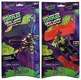 Teenage Mutant Ninja Turtles Toys Kids Nick Super Looper Boomerang Planes Donatello and Raphael 2-pk