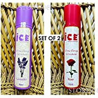 Store108 - Air Freshener Set Of 2 – ICE Aroma Therapy – 150 Ml Each
