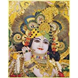 "Dolls Of India ""Sri Sri Rashbihariji"" Reprint On Paper - Unframed (26.67 X 21.59 Centimeters)"