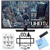 Samsung UN48JU6400 48-Inch 4K Ultra HD Smart LED HDTV Slim Flat Wall Mount Bundle includes 48-Inch 4K U HD TV, Slim Flat Wall Mount Bundle, 6 Outlet Wall Tap w/ 2 USB Ports and Beach Camera Cloth