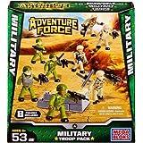 Mega Bloks Adventure Force Military Troop Pack Set #94423