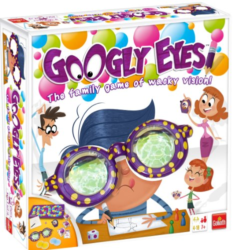 Googly Eyes Game  Family Drawing Game with Crazy, Vision-Altering Glasses