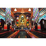"Dolls Of India ""Buddha Statue In Ranka Monastery - East Sikkim, India"" Photographic Print - Unframed (60.96 X..."