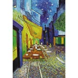 Mutong Toys Adult 1000-piece Puzzle Ink Painting Style Wooden Jigsaw Puzzles ST002-Night Cafe