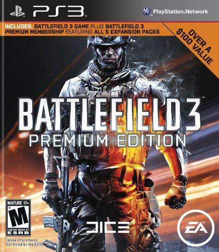BATTLEFIELD 3 PREMIUM EDITION-PS3 GAMING CD