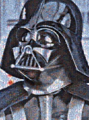 Buffalo Games Star Wars Photomosaic: Darth Vader - Jigsaw Puzzle (1000-Piece)
