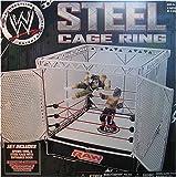 WWE JAKKS STEEL CAGE SPRING RING FOR ACTION FIGURES