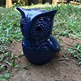 The Garden Store Owl Planter Painted