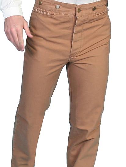 Edwardian Men's Pants Canvas Pants Tall  AT vintagedancer.com