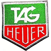 HEUER Motorsport Racing Team Le Mans Carrera GT Formula 1 F1 Racing Race Tag Heuer Watch Sponsor Logo Patch Sew...