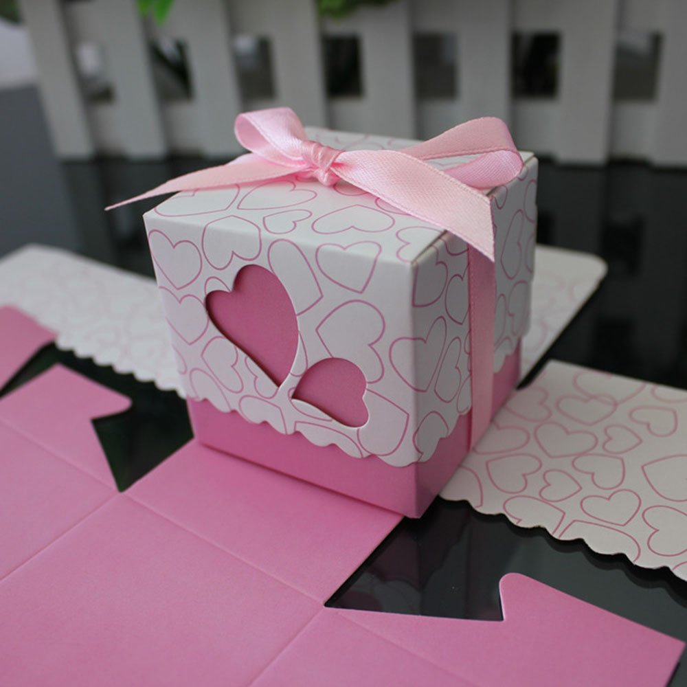 Wedding Favor Boxes -- Gold, Vintage, and Heart Boxes Jennifer McCoy ...