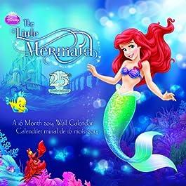 The Little Mermaid 2014 Calendar: 25th Anniversary