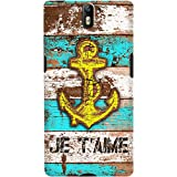 DailyObjects Anchor Marine In Blue Case For OnePlus One