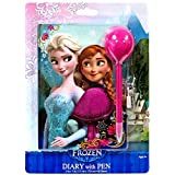 Disney Frozen Diary & Pen Set Anna & Elsa