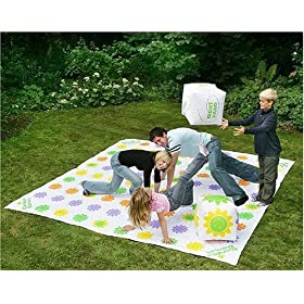 Click to buy Get Knotted, the giant Twister game for outdoors!