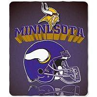 Minnesota Vikings 50x60 Grid Iron Fleece Throw
