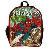 BB Designs Stylish Comics Close Up Design Marvel Spiderman Backpack