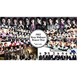 Music KPOP Bigbang Exo Kpop Shinee Block B Teen Top NU'EST JYJ DBSK ... ON FINE ART PAPER HD QUALITY WALLPAPER...