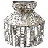 NINI's Stainless Steel Decorative Gift Box (23 Cm X 23 Cm X 20 Cm, Golden)