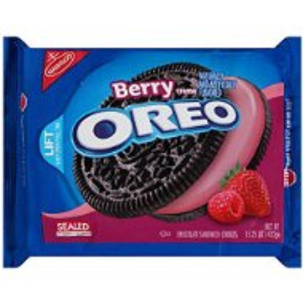 Berry Creme Oreo Cookies