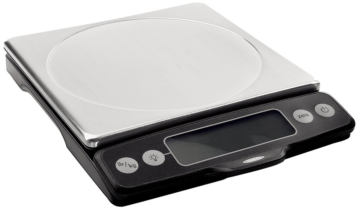 OXO Good Grips Stainless Steel Food Scale with Pull-Out Display | Amazon.com