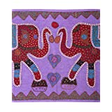 Rajrang Home Décor Cotton Patch Work Violet Wall Hanging Tapestry - B00WWON1SA