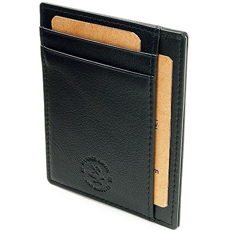 Thinnest Wallets on the internet: Hammer Anvil RFID Blocking Front Pocket Wallet