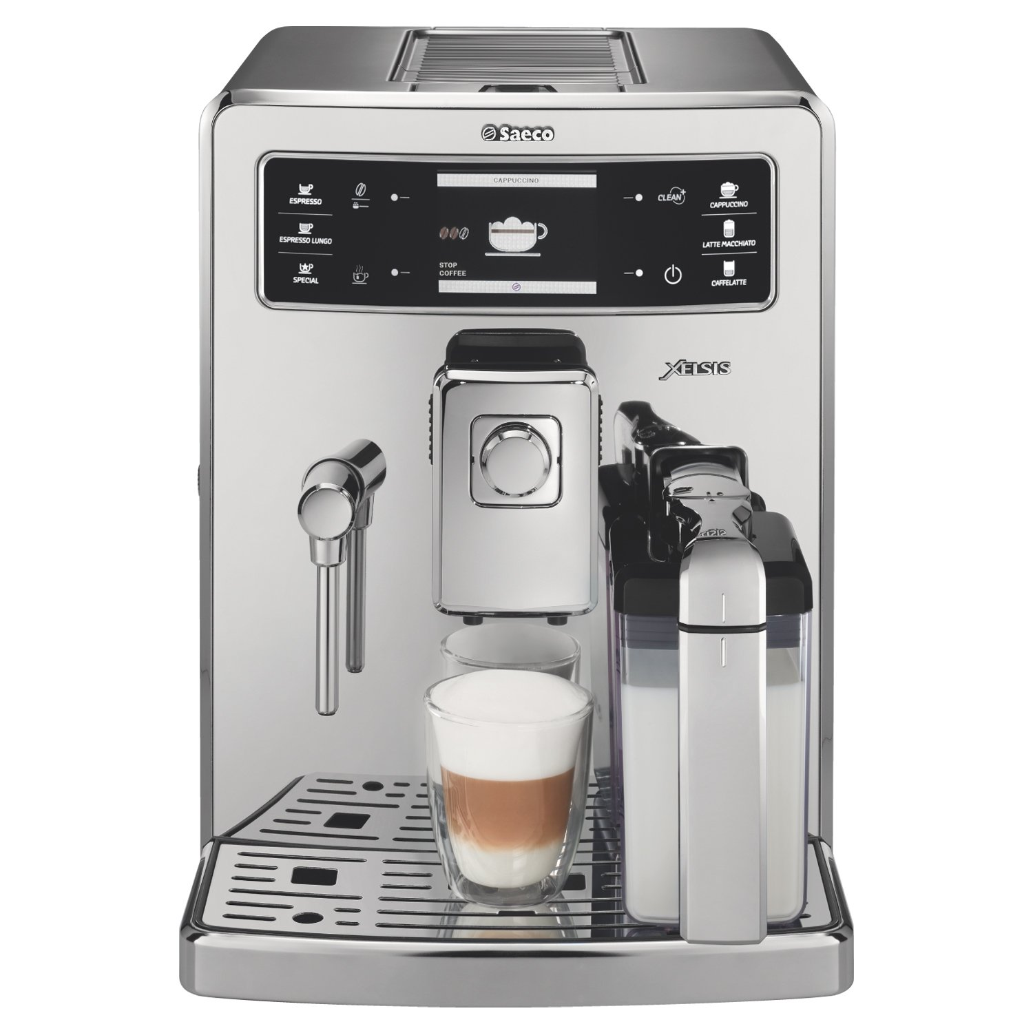 Philips Saeco Xelsis Digiital ID Espresso Machine Front View