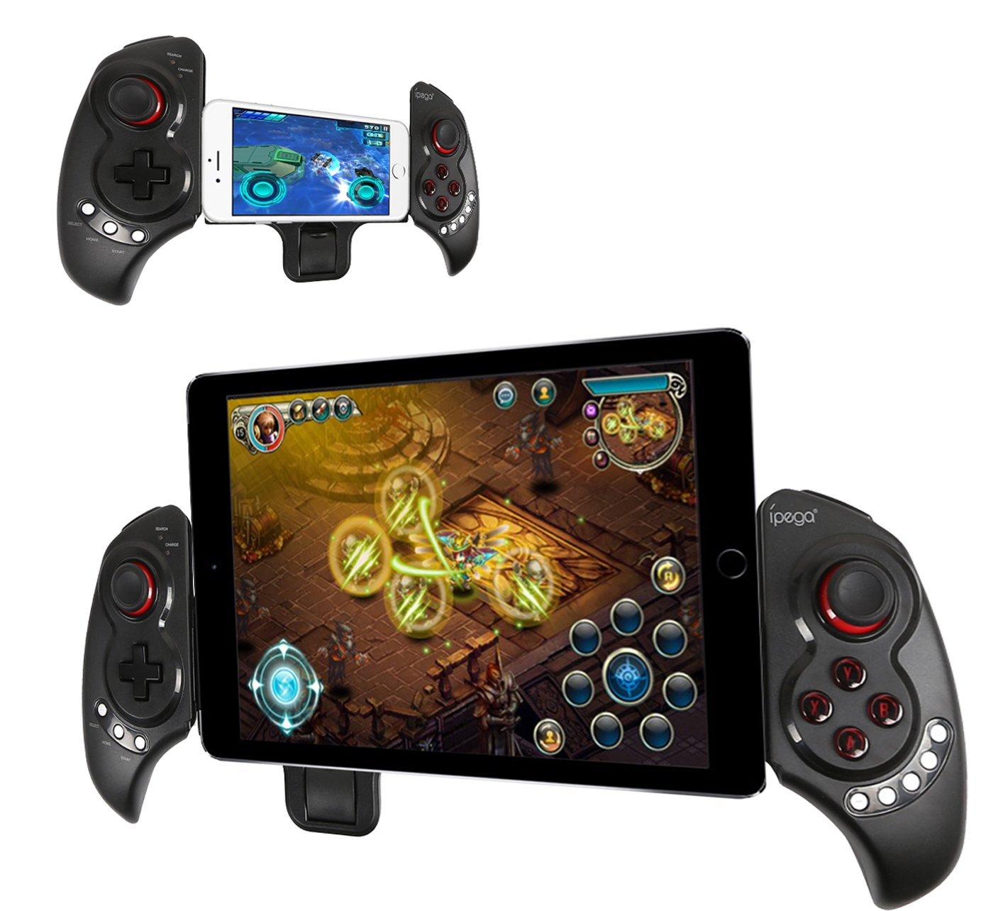 Best Bluetooth Game Controller For Android And Ios Smartphones Gamepad Hp Dan Ipega Extendable Wireless