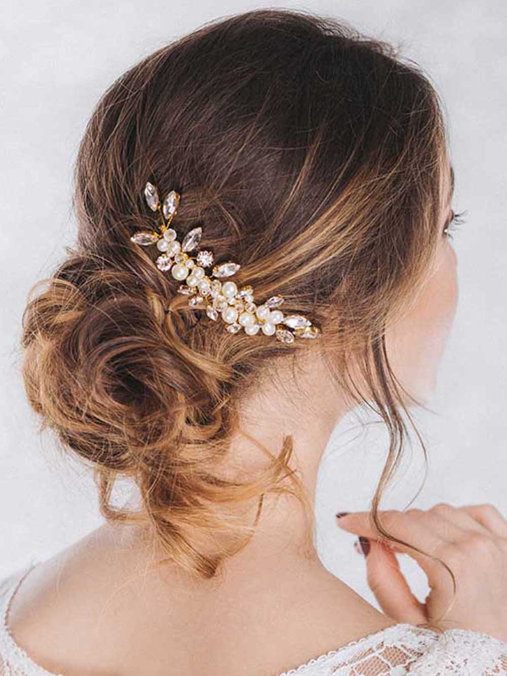 hair comb style venusvi vintage wedding hair combs with bead and 5025