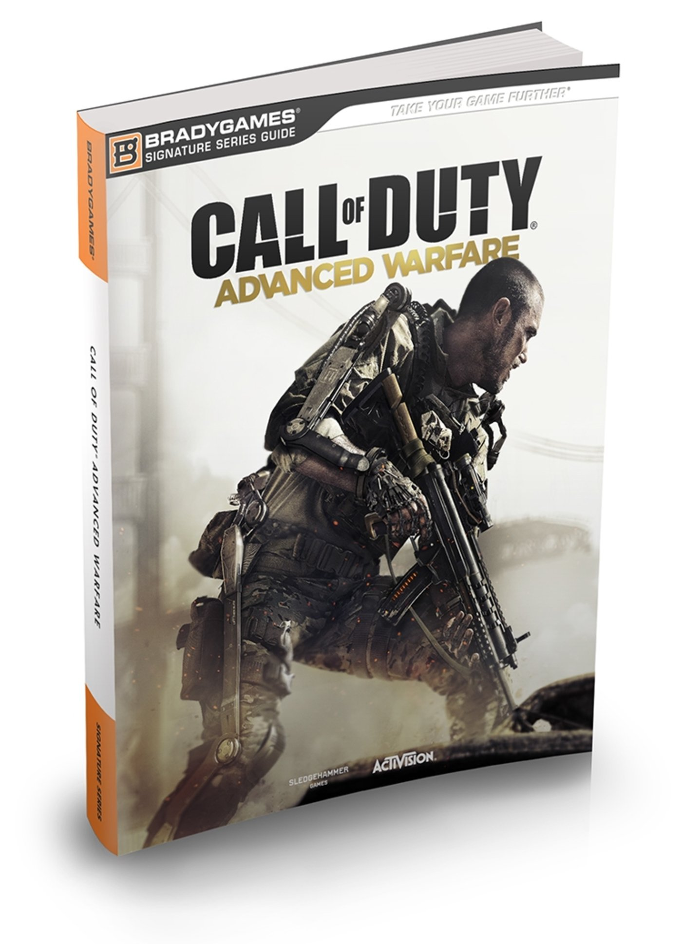 Here S What S Inside The Call Of Duty Advanced Warfare Limited Edition Strategy Guide Game