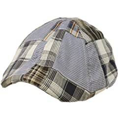 San Diego Hat Baby-Boys Infant Plaid Cabby Hat